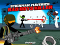 Igre Stickman Maverick: Bad Boys Killer